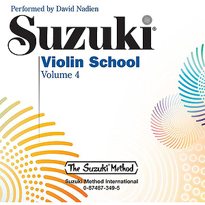 Suzuki Violin School CD Volume 4 (Performed By David Nadien(includes Separate Accompaniment Tracks)