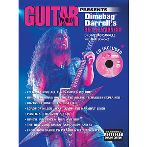 Guitar World Presents Dimebag Darrell's Riffer Madness CD Included