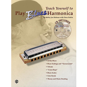 Teach Yourself To Play Blues Harmonica Book And CD
