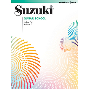Suzuki Guitar School Guitar Part Volume 2