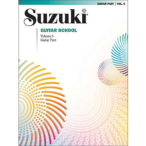 Suzuki Guitar School Volume 5 Guitar Part