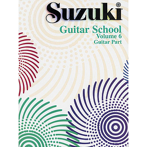 Suzuki Guitar School Volume 6 Guitar Part