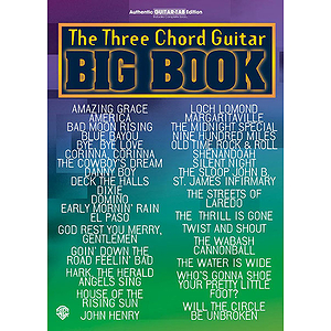 3 Chord Guitar Big Book