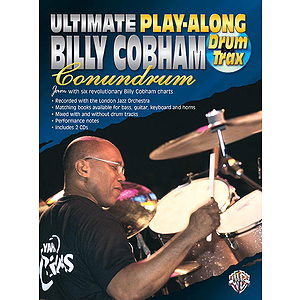 Ultimate Play-Along With Billy Cobham  Drum Trax  CD Included