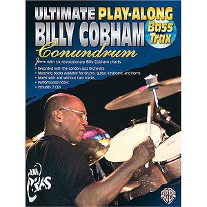 Ultimate Billy Cobham Conundrum Play-Along Bass CD Included