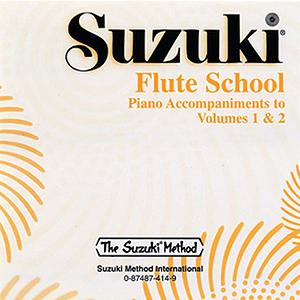 Suzuki Flute School CD Volume 3 & 4 Piano Acc.