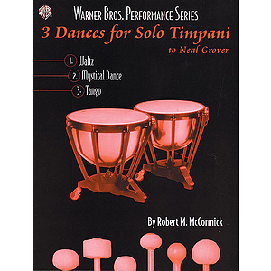 3 Dances Solo Timpani