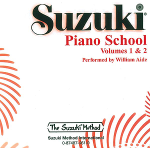 Suzuki Piano School CD Volume 1 & 2 (Performed By William Aide