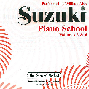 Suzuki Piano School CD Volumes 3 & 4 (Performed By William Aide)
