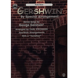 Gershwin By Special Arrangement Flute Oboe Book And CD
