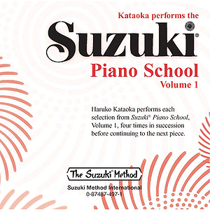 Suzuki Piano School CD Volume1 (Performed By Kataoka)