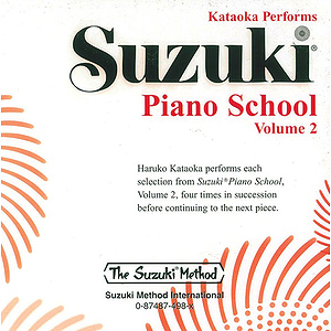 Suzuki Piano Shcool CD Volume 2 (Performed By Kataoka)