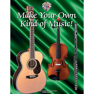 Wb Classroom Music Posters Set Of 6  18 X 22 Full Color