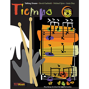Tiempo Talking Drums Play-Along For Drum Set And Percussion CD Included