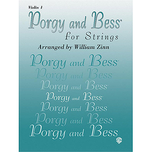 Porgy And Bess For Strings Voilin 1