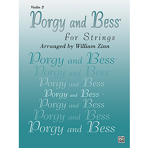 Porgy And Bess For Strings Violin 2