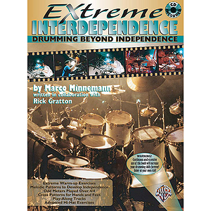 Extreme Intersependence Drumming Beyond Independence CD Included
