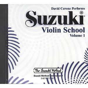 Suzuki Violin School CD Volume 1 (Performed By David Cerone