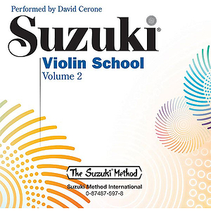 Suzuki Violin School CD Volume 2 (Performed By David Cerone