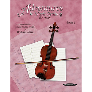 Adventures In Music Reading For Violin Book 1