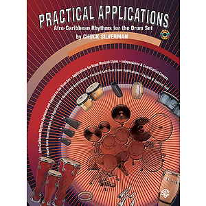 Practical Applications Afro-Caribbean Rhythms For The Drum Set BK 2 CD