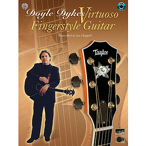 Doyle Dykes - Virtuoso Guitar Book And CD
