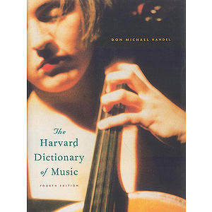 Harvard Dictionary Of Music Fourth Edition