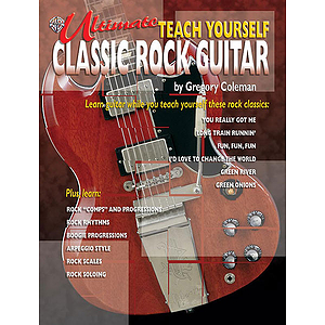 Ultimate Teach Yourself Classic Rock Guitar Book/CD