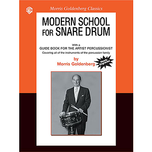 Modern School For Snare Drum With A Guide For The Artist-Percussionist