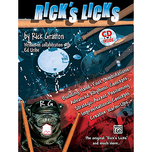 Rick's Licks Book And CD