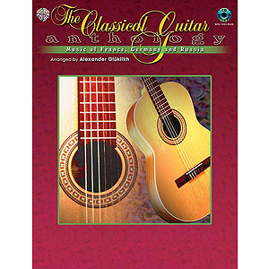 Classical Guitar Anthology Music Of France Germany And Russia CD Included