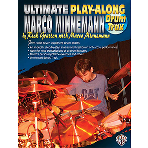Marco Minnemann Ultimate Play-Along CD Included