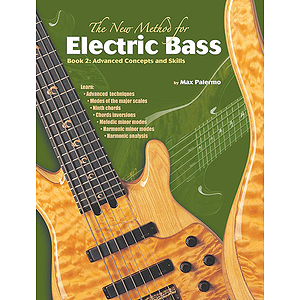 New Method For Electric Bass Book 2 Advanced Concepts Ans Skills