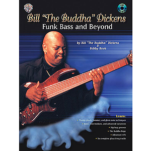 Bill Dickens Funk Bass And Beyond Book/CD