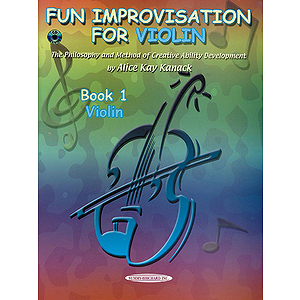 Fun Improvisation For Violin Book 1 Book & CD