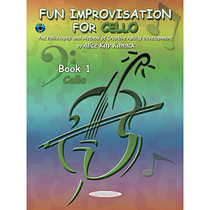 Fun Improvisation For Cello Book 1 Cello Book & CD