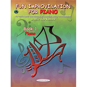 Fun Improvisation For Piano Book 1  Piano Book & CD
