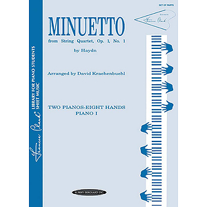 Minuetto String Quartet (2p8h)