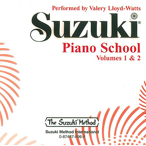 Suzuki Piano School CD Volumes 1 & 2 (Performed By Valery Lloyd-Watts)