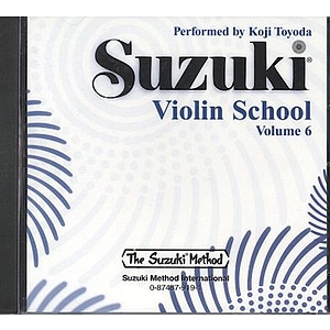 Suzuki Violin School CD Volume 6 (Performed By Koji Toyoda)