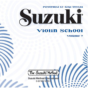 Suzuki Violin School CD Volume 7 (Performed By Koji Toyoda)