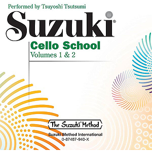 Suzuki Cello School CD Volume 1 & 2 (Performed By Tsuyodhi Tsutsumi)