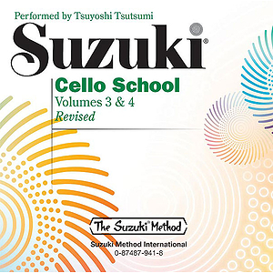 Suzuki Cello School CD Volume 3 & 4