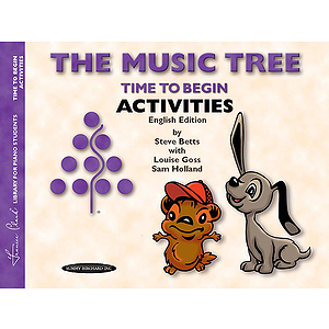 Music Tree  Time To Begin Activities  English/Australian Edition