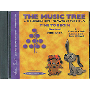 Music Tree: Time To Begin Midi Disk (Revised)