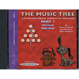 Music Tree Part 1 Midi Disk