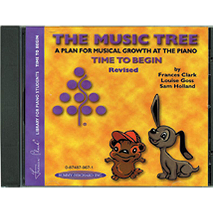 Music Tree: Time To Begin Acc. CD (Revised)