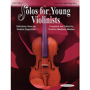 Solos For Young Violinists Violin Part And Piano Acc. Volume 2