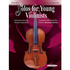 Solos For Young Violinists Violin Part And Piano Acc. Volume 5