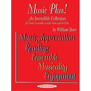 Music Plus! For Violin Ensemble Or With Viola And/Or Cello